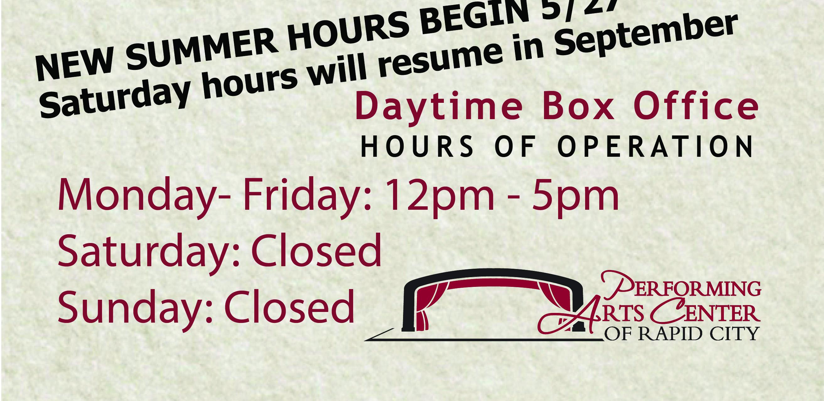 Slider-Summer-Hours-sign
